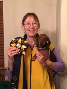 Mala earned highest scoring hound at the MHDPC Agility Trial.